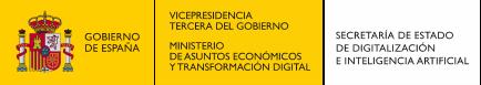 Ministerio de asuntos económicos y transformación digital de España